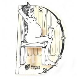 Термометр для бани и сауны В здоровом теле-здоровый дух